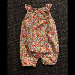 Baby Bowden frilly bubble romper 3-6m